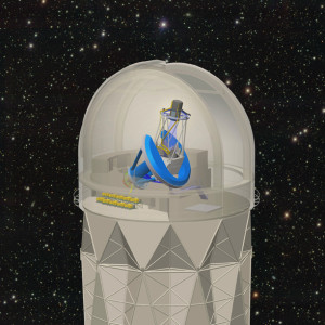 The Dark Energy Spectroscopic Instrument (DESI) will be mounted on the 4-Meter Mayall telescope at Kitt Peak National Observatory. It will collect spectra from 30 million galaxies and quasars to make the biggest 3D map of the universe ever.